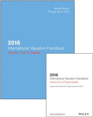 2016 International Valuation Handbook - Industry Cost of Capital + Semiannual PDF Update (Set)