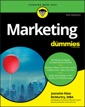 Marketing For Dummies, 5th Edition (1119365570) cover image