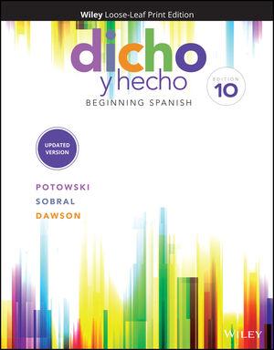 Dicho y hecho: Beginning Spanish, 10th Edition
