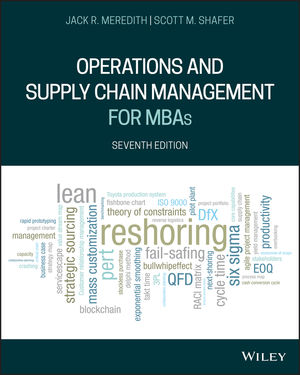 Operations Management MBAs, 7th Edition