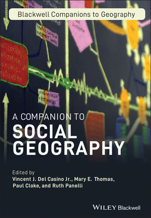 A Companion to Social Geography (1405189770) cover image