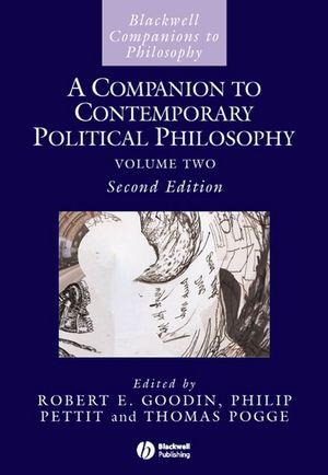 A Companion to Contemporary Political Philosophy, 2nd Edition (1444350870) cover image