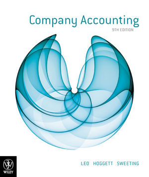 Company Accounting, 9th Edition