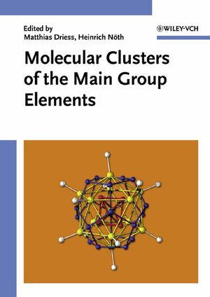 Molecular Clusters of the Main Group Elements (3527614370) cover image