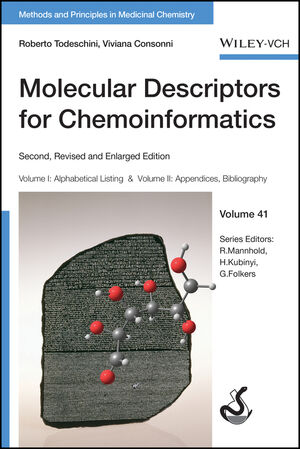 Molecular Descriptors for Chemoinformatics: Volume I: Alphabetical Listing / Volume II: Appendices, References, 2nd, Revised and Enlarged Edition (3527628770) cover image