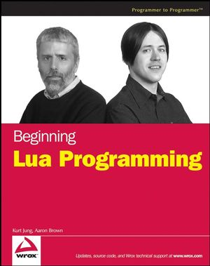 Beginning Lua Programming (0470069171) cover image
