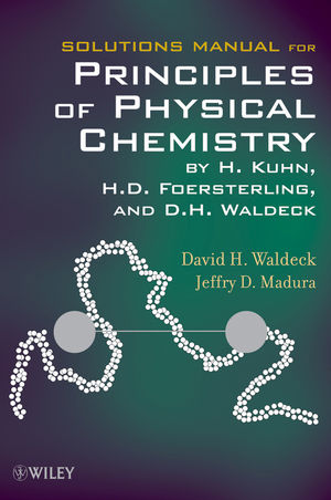 Solutions Manual for Principles of Physical Chemistry (0470561971) cover image