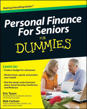 Personal Finance For Seniors For Dummies (0470636971) cover image