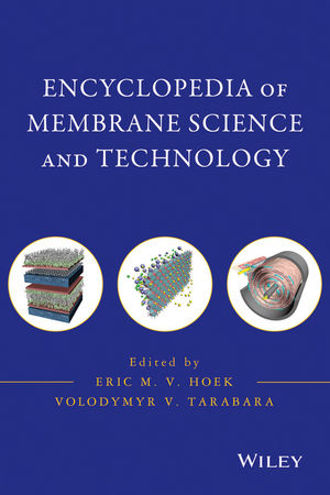 Encyclopedia of Membrane Science and Technology, 3 Volume Set (0470906871) cover image
