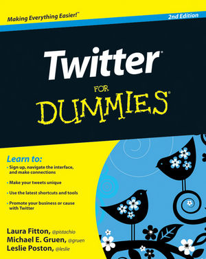 Twitter For Dummies, 2nd Edition (0470909471) cover image