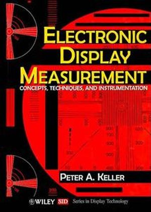 Electronic Display Measurement: Concepts, Techniques, and Instrumentation (0471148571) cover image