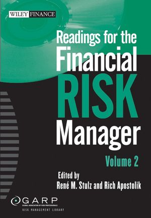 Readings for the Financial Risk Manager II  (0471782971) cover image