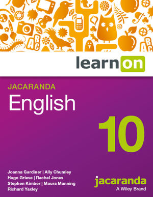 LearnOn English Year 10 For The Australian Curriculum (Online Purchase)