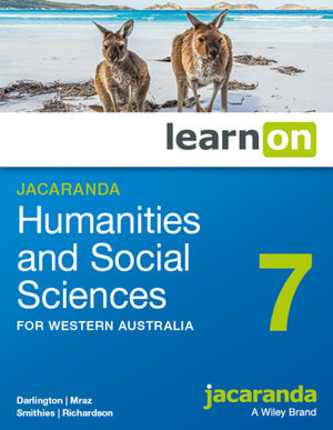 Jacaranda Humanities and Social Sciences 7 for Western Australia learnON (Codes Emailed)