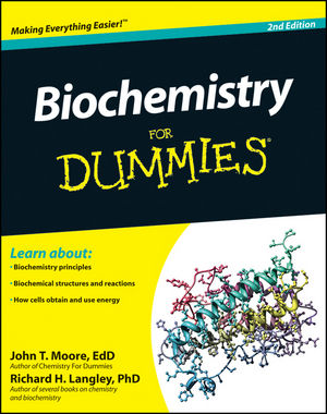 Biochemistry For Dummies, 2nd Edition (1118103971) cover image