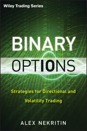 Binary Options: Strategies for Directional and Volatility Trading (1118417771) cover image