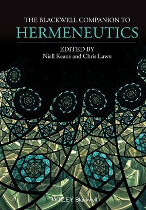 The Blackwell Companion to Hermeneutics (1118529871) cover image