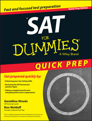 SAT For Dummies 2015 Quick Prep