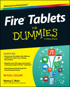 Fire Tablets For Dummies (1119008271) cover image