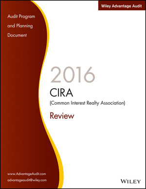 Wiley Advantage Audit 2016 - CIRA (Common Interest Realty Association) Review