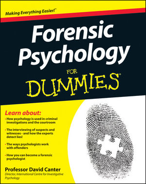 Forensic Psychology For Dummies (1119977371) cover image