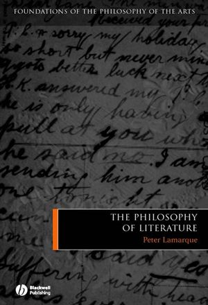 The Philosophy of Literature (1405121971) cover image