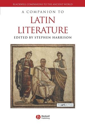 A Companion to Latin Literature (1405137371) cover image