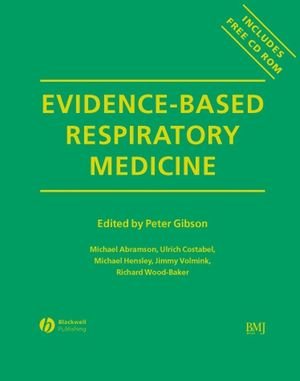 Evidence-Based Respiratory Medicine (1405172371) cover image