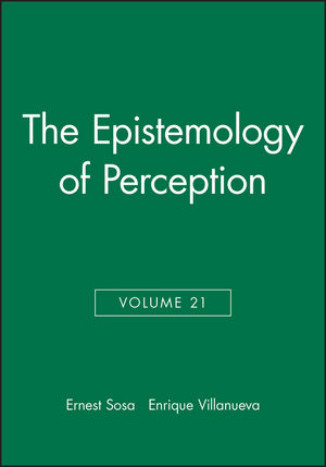 The Epistemology of Perception, Volume 21