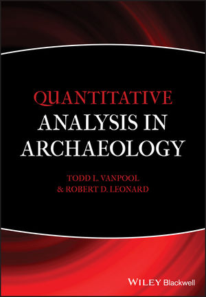 Quantitative Analysis in Archaeology (1444390171) cover image