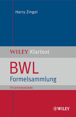 BWL Formelsammlung (SA)