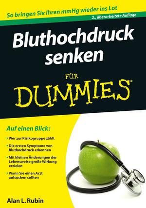 Bluthochdruck senken für Dummies, 2. Auflage