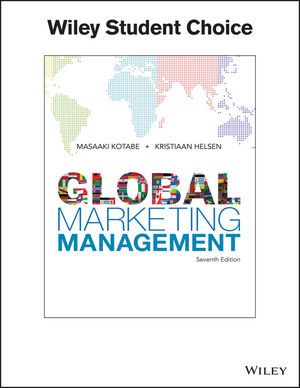 Global Marketing Management, 7th Edition (EHEP003671) cover image