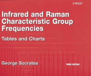 Infrared and Raman Characteristic Group Frequencies: Tables and Charts, 3rd Edition (0470093072) cover image