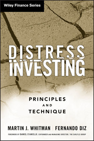 Distress Investing: Principles and Technique (0470117672) cover image