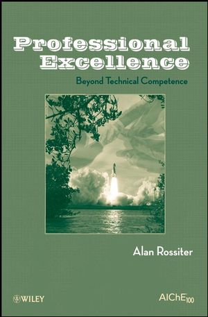 Professional Excellence: Beyond Technical Competence (0470377372) cover image