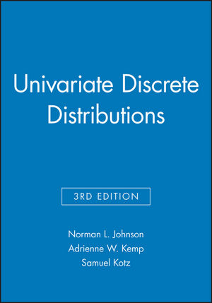 Univariate Discrete Distributions, 3e Set