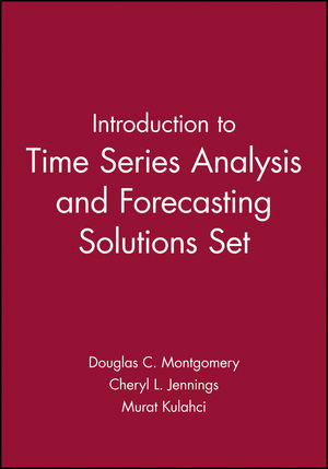 Introduction to Time Series Analysis and Forecasting Solutions Set