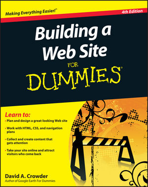 Building a Web Site For Dummies, 4th Edition (0470646772) cover image