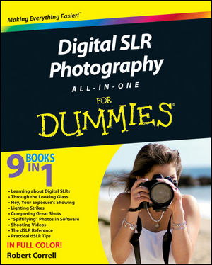 Digital SLR Photography All-in-One For Dummies (0470946172) cover image