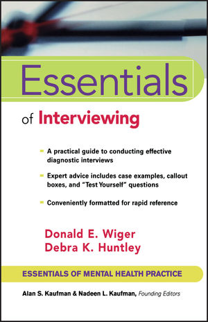 Essentials of Interviewing (0471002372) cover image