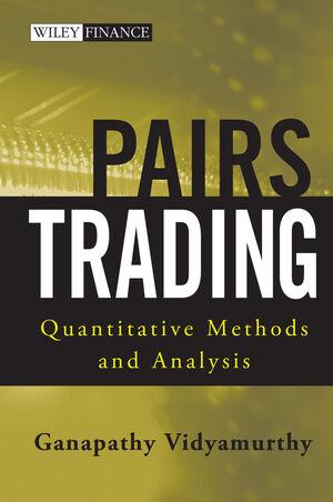 Pairs Trading: Quantitative Methods and Analysis (0471460672) cover image