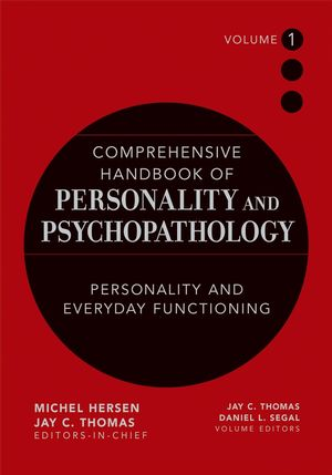 Comprehensive Handbook of Personality and Psychopathology , Volume 1 , Personality and Everyday Functioning (0471488372) cover image
