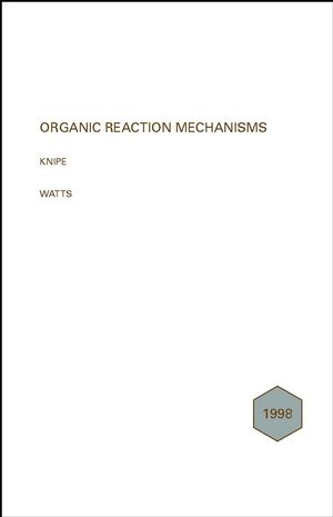 Organic Reaction Mechanisms 1998: An annual survey covering the literature dated December 1997 to November 1998 (0471490172) cover image