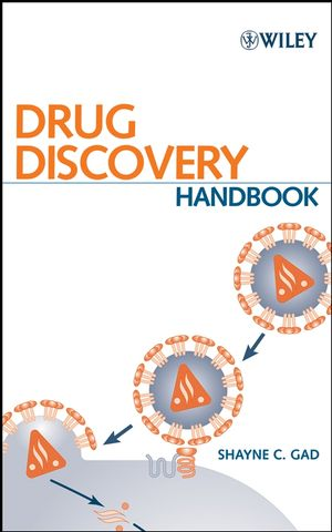 Drug Discovery Handbook (0471728772) cover image