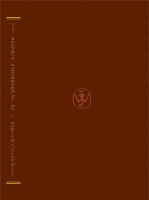 Organic Syntheses, Volume 83
