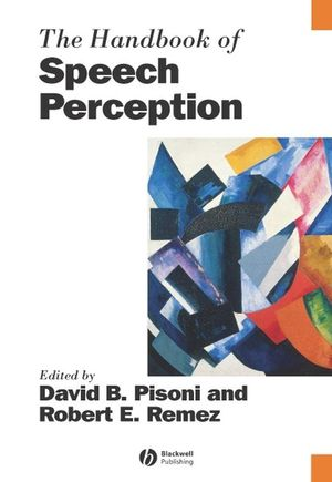 The Handbook of Speech Perception (0631229272) cover image