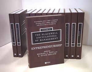The Blackwell Encyclopedia of Management, 12 Volume Set, 2nd Edition (0631233172) cover image