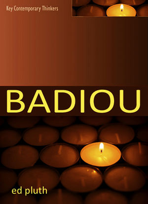 Badiou: A Philosophy of the New (0745642772) cover image