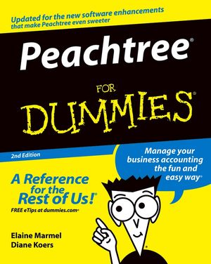 Peachtree For Dummies, 2nd Edition (0764559672) cover image